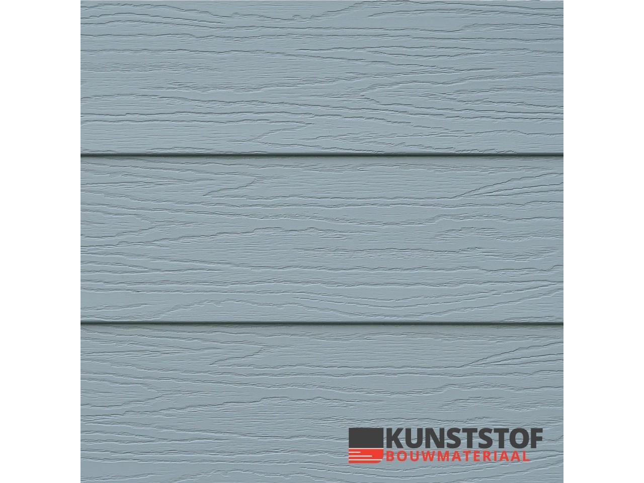 Eurotexx Potdeksel grijs - RAL7001- gevelbekleding- Zweeds rabat - kunststof