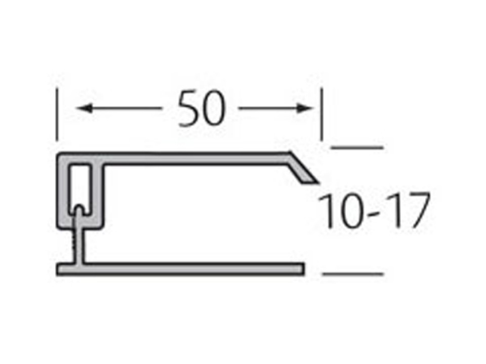 Eindprofiel 2-delig - WoodDesign - Goud eiken