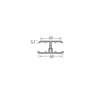 Verbindingsprofiel 2-delig - Kerrafront