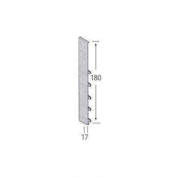 Stootvoegverbinding 180 mm (voor potdeksel) - Eurotexx