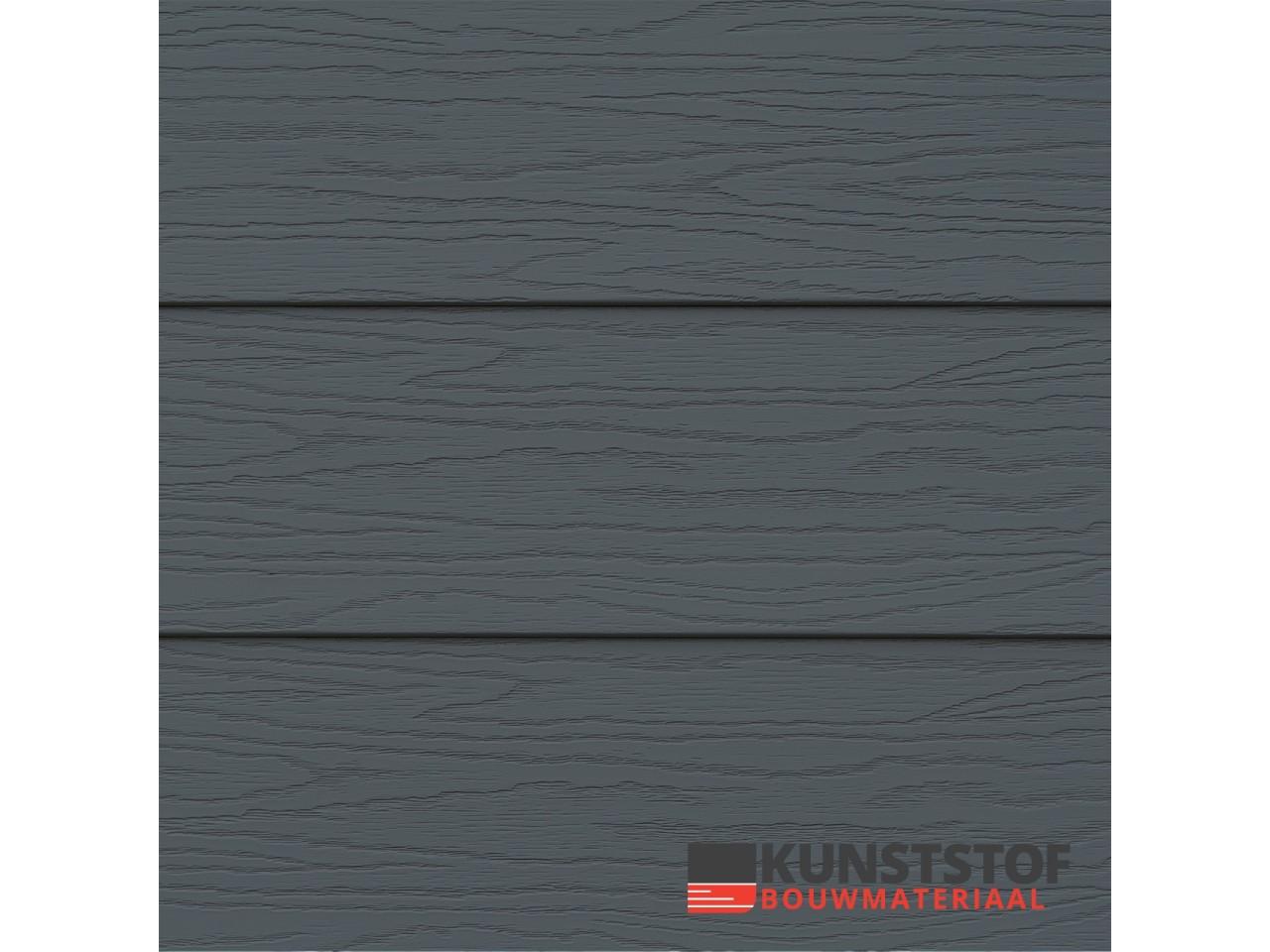 Eurotexx Potdeksel antraciet -donker grijs - RAL 7015- gevelbekleding- Zweeds rabat