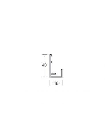 Startprofiel verticale bekleding - VinyPlus